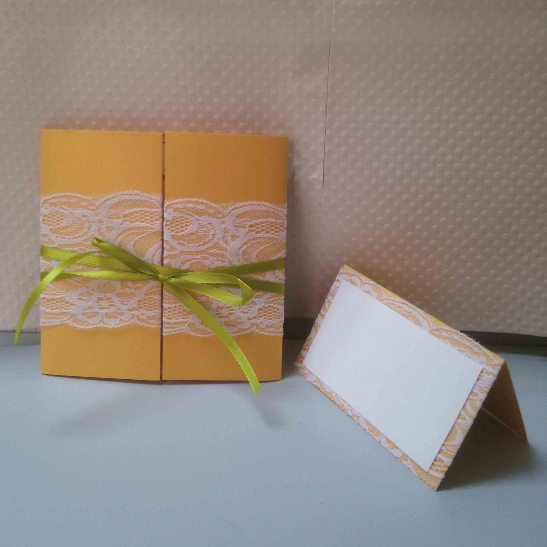 Gate Fold Lace Invitation Card Chinese Style Wedding Card Customized
