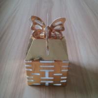 Chinese Style Wedding Box Laser Cut Paper Candy Box Customized